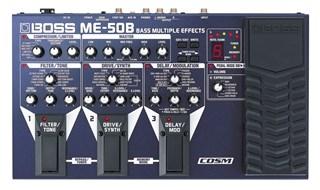 BOSS ME-50B Bass Guitar Multi-Effects Floor Unit