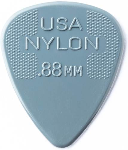 Dunlop 44P.88 Nylon Standard 12/Play Pack picks