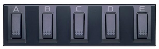 Korg EC5 5-Switch Pedal Board