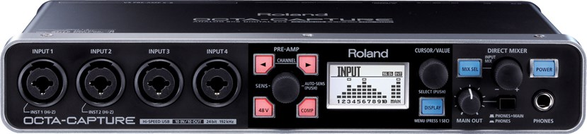 Roland UA-1010 Octacapture USB Audio Interface