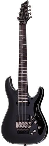 Schecter Hellraiser C-7 FR Sustaniac Black