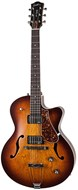 Godin 5th Avenue CW Kingpin II HB Cognac Burst HH with TRIC