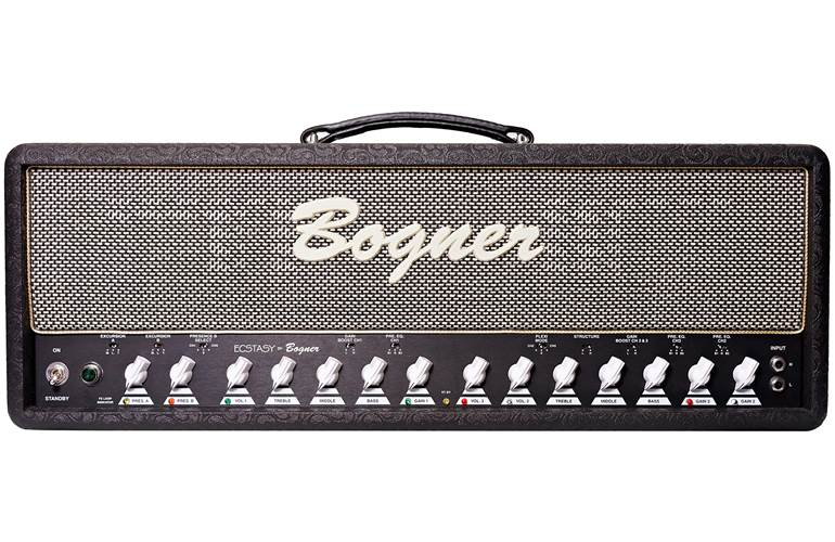 Bogner Ecstasy Head 101B EL34 Comet/Salt and Pepper