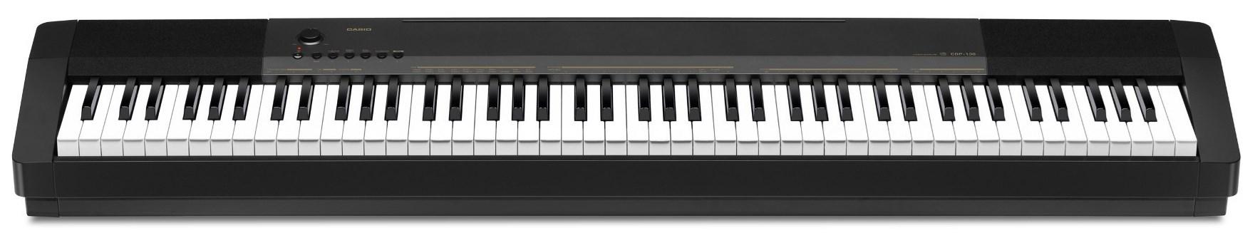 Casio CDP-130 Black Digital Piano