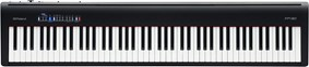 Roland FP-30-BK Black Digital Piano Front View