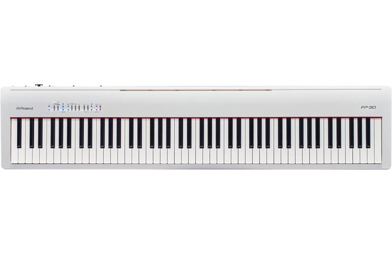 Roland FP-30 White Digital Piano