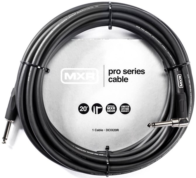 MXR 20ft Standard Right Angle Pro Cable