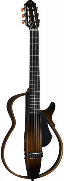 Yamaha SLG200 Silent Guitar Nylon Tobacco Brown Sunburst