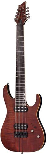Schecter Banshee Elite-8 Cat's Eye Pearl
