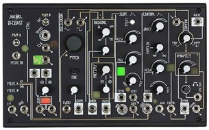 Make Noise 0-Coast Desktop Semi-Modular Analog Synth