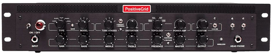 Positive Grid Bias Rack DSP