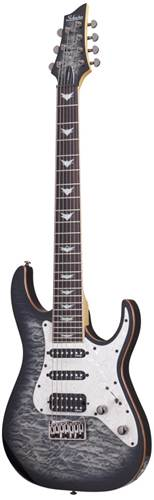 Schecter Banshee-7 Extreme Charcoal Burst