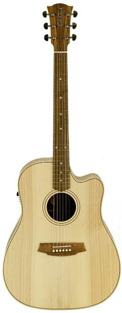 Cole Clark Fat Lady 2 Bunya Top, Australian Blackwood Back and Sides Cutaway