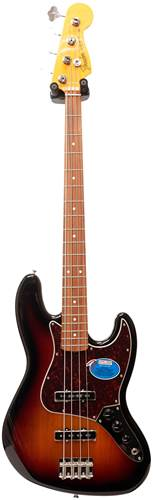 Fender Classic Series Lacquer 1960s Jazz Bass PF 3 Tone Sunburst