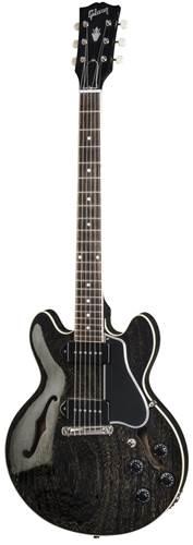 Gibson Custom Shop CS-336 Mahogany Black Gold Wrap Tail Nickel Bridge