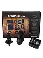 Audio Technica AT2035-Studio Recording Bundle