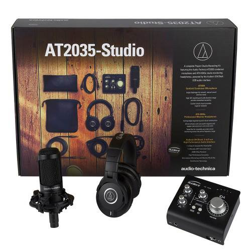 Audio Technica AT2035-Studio Recording Bundle