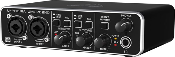 Behringer UMC202HD USB Audio Interface