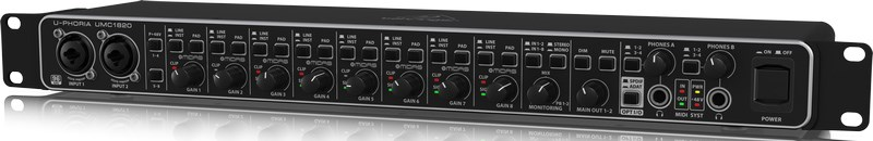 Behringer UMC1820 USB Audio Interface