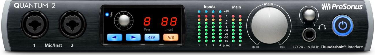 Presonus Quantum 2 Thunderbolt Audio Interface