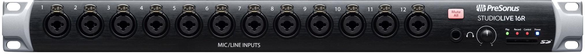Presonus SL16R Studiolive Series III Rack Mount Mixer