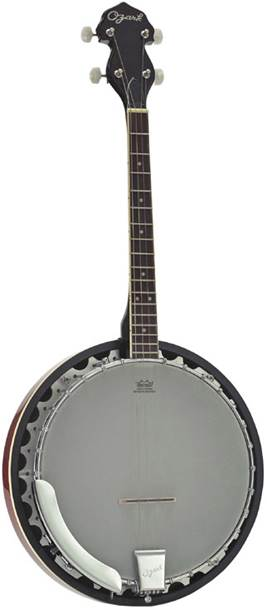Ozark 2104TS Tenor Banjo Short Scale