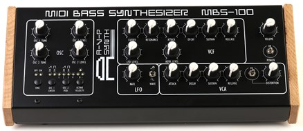 AVP Synth MBS-100 MIDI Bass Analogue Synth