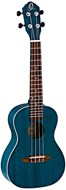 Ortega Earth Series Concert Ukulele Ocean Blue
