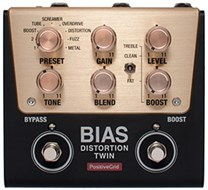 Positive Grid BIAS Distortion Twin 2 Button Pedal