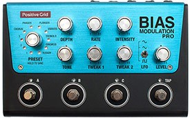 Positive Grid BIAS Modulation Pro 4 Button Pedal