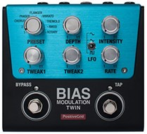 Positive Grid BIAS Modulation Twin 2 Button Pedal