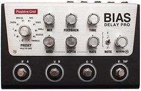 Positive Grid BIAS Delay Pro 4 Button Pedal