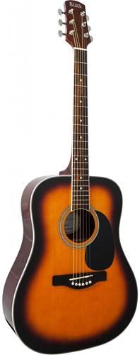 Adam Black S2 Acoustic Guitar Brown Sunburst
