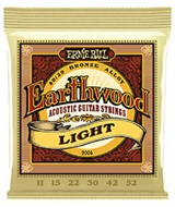 Ernie Ball 2004 Earthwood 80/20 Bronze Light Guitar Strings