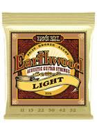Ernie Ball 2004 Earthwood 80/20 Bronze Light Guitar Strings