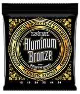Ernie Ball 2566 Aluminium Bronze Medium Light Guitar Strings 12-54