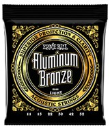 Ernie Ball 2568 Aluminium Bronze Light Guitar Strings 11-52