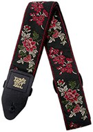 Ernie Ball 4142 Red Rose Jacquard Strap