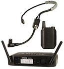 Shure GLXD14UK/SM35-Z2 Wireless System with SM35 Headset Mic