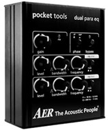 AER Pocket Tool Dual-Band Parametric EQ
