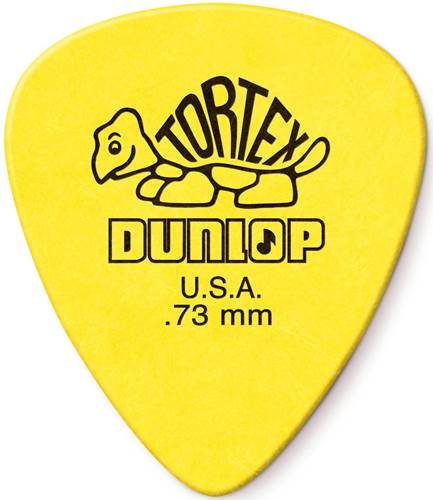 Dunlop Tortex Standard .73mm - Bag 72 Plectrum