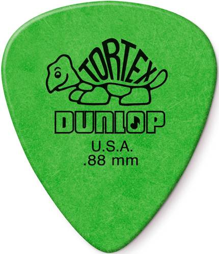 Dunlop Tortex Standard .88mm - Bag 72 Plectrum