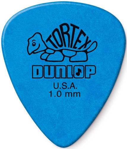 Dunlop Tortex Standard 1.0mm - Bag 72 Plectrum