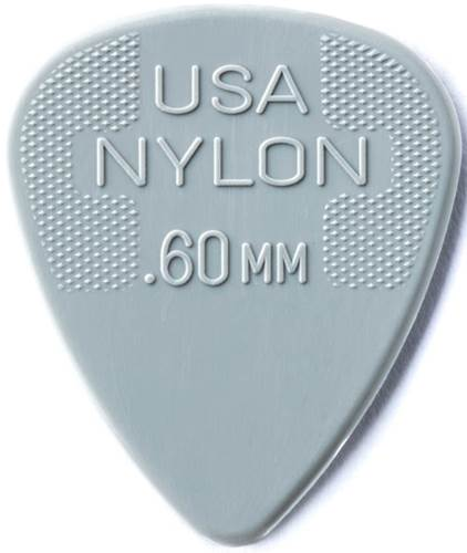 Dunlop Nylon Standard .60mm - Bag 72 Plectrum