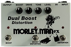 Morley Dual Boost Distorition