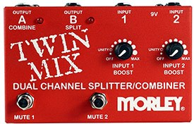 Morley Dual Channel Splitter/Combiner Mixer