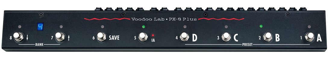 Voodoo Lab Pedal Switcher PX-8 Plus