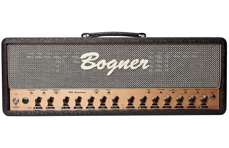 Bogner Ecstasy Anniversary Head 100W 6L6 Comet/Salt and Pepper