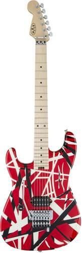 EVH Striped Series Red/Black/White Left Handed