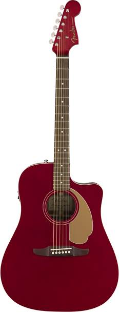 Fender California Series Redondo Player Candy Apple Red